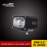 "5.5 "" 30W Bright Power СИД Work Light IP67 Waterproof"