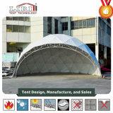Imperméable et Dôme ignifuge tente avec AC, demi-sphère tente pour la vente