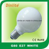 G80 löschen Frost-weiße und goldene Glühbirne
