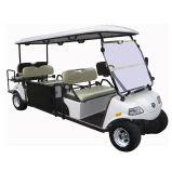 전지 효력 8 Seater (DEL3062G2Z)를 가진 전기 관광 골프 카트