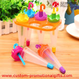 PlastikUmbrella Shape Stand Popsicle Mold Set 6 in 1