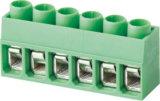 直角Pinヘッダ(WJ167R-5.0)が付いているWanjie PCBの端子ブロックのコネクター