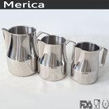 Drinkwareのステンレス鋼のLatteのコップのミルクの水差し