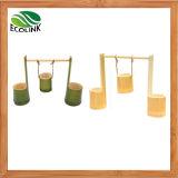 Impulso criativo Flowerpot Bambu/ Suculento Pot