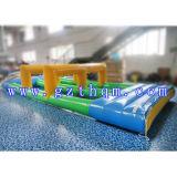 Trasparenza di acqua gonfiabile della tela incatramata dell'acqua del trampolino di immersione del PVC gonfiabile della trasparenza/grado utilizzata nella sosta dell'acqua