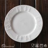 16PCS in rilievo di ceramica della porcellana Insieme di pranzo
