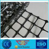 Pp. zweiachsiges Plastikgeogrid 30/30 Kn mit 34mm Maschenweite