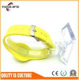 Wristband подарка праздника RFID рождества при напечатанный логос и подгонянная конструкция