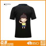 남자의 인쇄 형식 빠른 건조한 t-셔츠