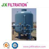 De volta a lavagem do filtro de areia para remoção de ferro