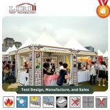 Tenda alla moda del Pagoda del Gazebo utilizzata tenda del partito di 50 Seater da vendere Filippine
