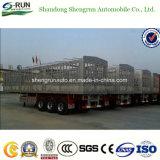 Della fabbrica di vendita diretta 3 degli assi del carico rimorchio del palo del rimorchio del camion del carico della rete fissa del rimorchio semi