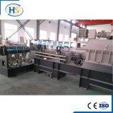 Extrusora de parafuso processada plástico do gêmeo do granulador do PVC da extrusão de Haisi
