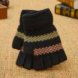 De kleurrijke Breiende Handschoen Fingerless van de Manier van de Handschoenen van de Douane van de Winter Acryl Magische