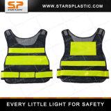 Veste elevada da visibilidade da veste reflexiva reflexiva quente da veste da segurança de Fuloreslent da venda