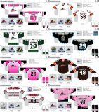 Customized Homens Mulheres Crianças Liga de Hóquei Americana Cleveland Monsters 2009-2013 Evento especial o hóquei no gelo Jersey
