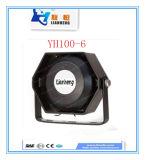 Altofalante elevado Yh100-6 da intensidade, o impermeável, o Dampproof e o resistente à corrosão de Warnig do sistema