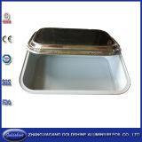 De Container van het Voedsel van de Folie van het Aluminium van de Rang van het voedsel voor Snel Voedsel