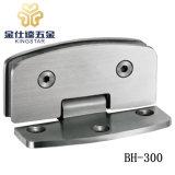 BH-300ステンレス鋼90度アークの端の一方的なシャワーのガラスヒンジのドアクランプ付属品