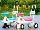 Barato adorável bebê de plástico de alta qualidade Walker laranja carro de torção do bebé