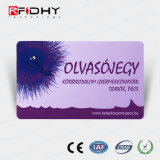 Impressão Offset Regravável Cartão RFID para controle de acesso