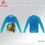 La sublimation de la pêche de l'usure des chemises sport maillots personnalisés