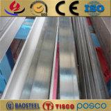 barre plate laminée à froid par 316ti d'acier inoxydable pour la conduction électrique