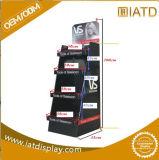 Étalage d'étage de carton avec l'impression de Cmyk, présentoir personnalisé, unité de visualisation debout d'étage