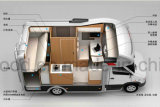 Piso do barramento CAN compensado, placas de piso do veículo ou contentor piso de madeira