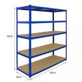 5 niveles ligeros baratos metálica para rack de almacén de estantería de almacenamiento para la cocina y cuarto de baño