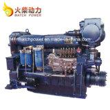 Weichai 300CV motor diesel marino wd12/ Wd618 Motor de barco con una alta fiabilidad