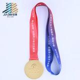 Medaglia russa di abitudine dello smalto dell'oro del campione della fucilazione del campione libero