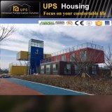 Neuer Entwurfs-modularer Installationssatz-Fertigbehälter-Haus mit Luxuxdekorationen