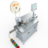 Automobile를 위한 Nkm-05 5 Wires Tinning Terminal Crimping Machine