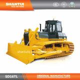 Fabricant officiel Shantui 160 Horsepower mécanique Bulldozer des zones humides (SD16TL)