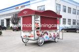 Nourriture mobile mobile Van de cuisine de chariot/camion de restaurant à vendre