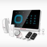 Sistema de alarme de assaltante GSM de segurança doméstica Wirelss com controle de APP