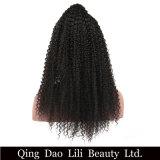 Pelucas llenas pre desplumadas del pelo humano del cordón para las mujeres negras con la peluca rizada brasileña Non-Remy del pelo rizado del pelo el 130% del bebé