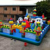Aufblasbares Schloss für Kinder in im Freien