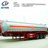 40, 000L 3 essieux pétrolier carburant/huile semi-remorque