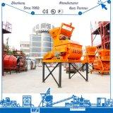 Js750 Mixer van het Cement van het Type van Schacht van de Riem van de Machine van de Concrete Mixer de Tweeling voor Concrete het Mengen zich Installatie