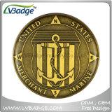 Personifizierte antikes Nickel überzogene Unternehmensmetallmünze