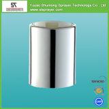 Capsula di plastica di vibrazione della protezione bianca rotonda della parte superiore