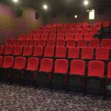 El asiento del auditorio de la silla de la conferencia, sillas de la sala de conferencias, aparta el asiento plástico del auditorio, asiento del auditorio, silla del auditorio (R-6166)