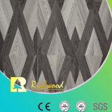 plancher de Laminbate de noix de texture de fibre de bois de 12.3mm E0 HDF AC4