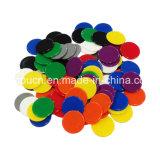 다채로운 징표 PVC 플라스틱 트롤리 동전을 당기는 CNC