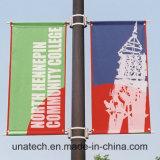 Via Palo del metallo che fa pubblicità al basamento della bandiera (BS53)