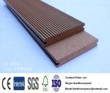 Деревянный пластичный составной твердый напольный Decking WPC