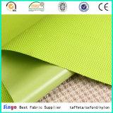 Tissu 100% enduit transparent de PVC de polyester 600d