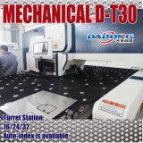 China la alta calidad de la placa de acero de pared de Cortina D-T30 CNC PUNZONADORA